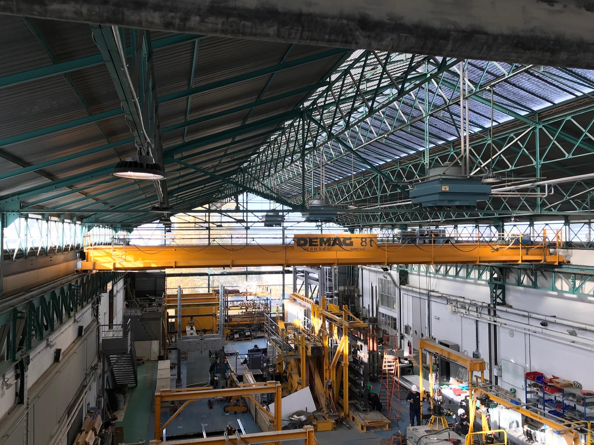 Bâtiments industriels CSTB à Marne-la-Vallée - Chantier site industriel -Génie électrique