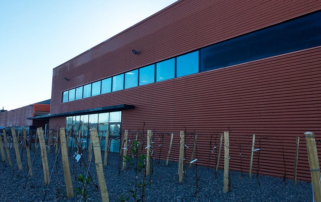 EKK à Segonzac - Chantier site industriel - Génie électrique et Génie climatique