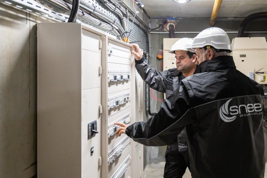 RSS La Canopée - L'Isle d'Espagnac - Chantier tertiaire - Génie électrique, Génie climatique et CVC